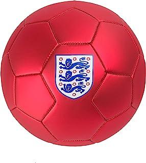 England Unisex fotboll, röd/vit, 5