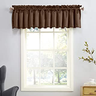 Best brown suede valance Reviews