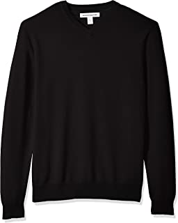 pierre cardin mock v neck jumper mens