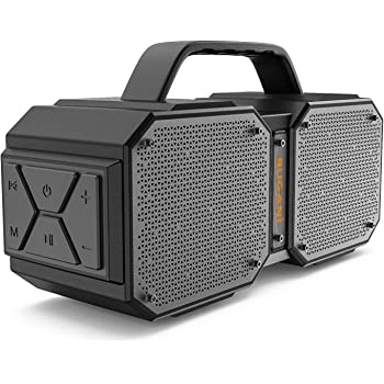 BUGANI Bluetooth Speaker, M83 Portable Bluetooth Speakers 5.0, 40W Super Power, Rich Woofer, Stereo Loud. Outdoor Bluetooth Speaker Suitable for Family Gatherings and Outdoor Travel.