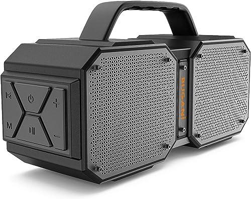 BUGANI Bluetooth Speaker, M83Portable Bluetooth Speakers,Bluetooth 5.0,Waterproof, Wireless Speakers,40W Super Power,...