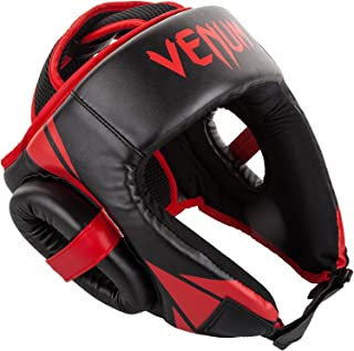 25eacf21cbb69f Venum Challenger Open Face Headgear - Black/Red, One Size