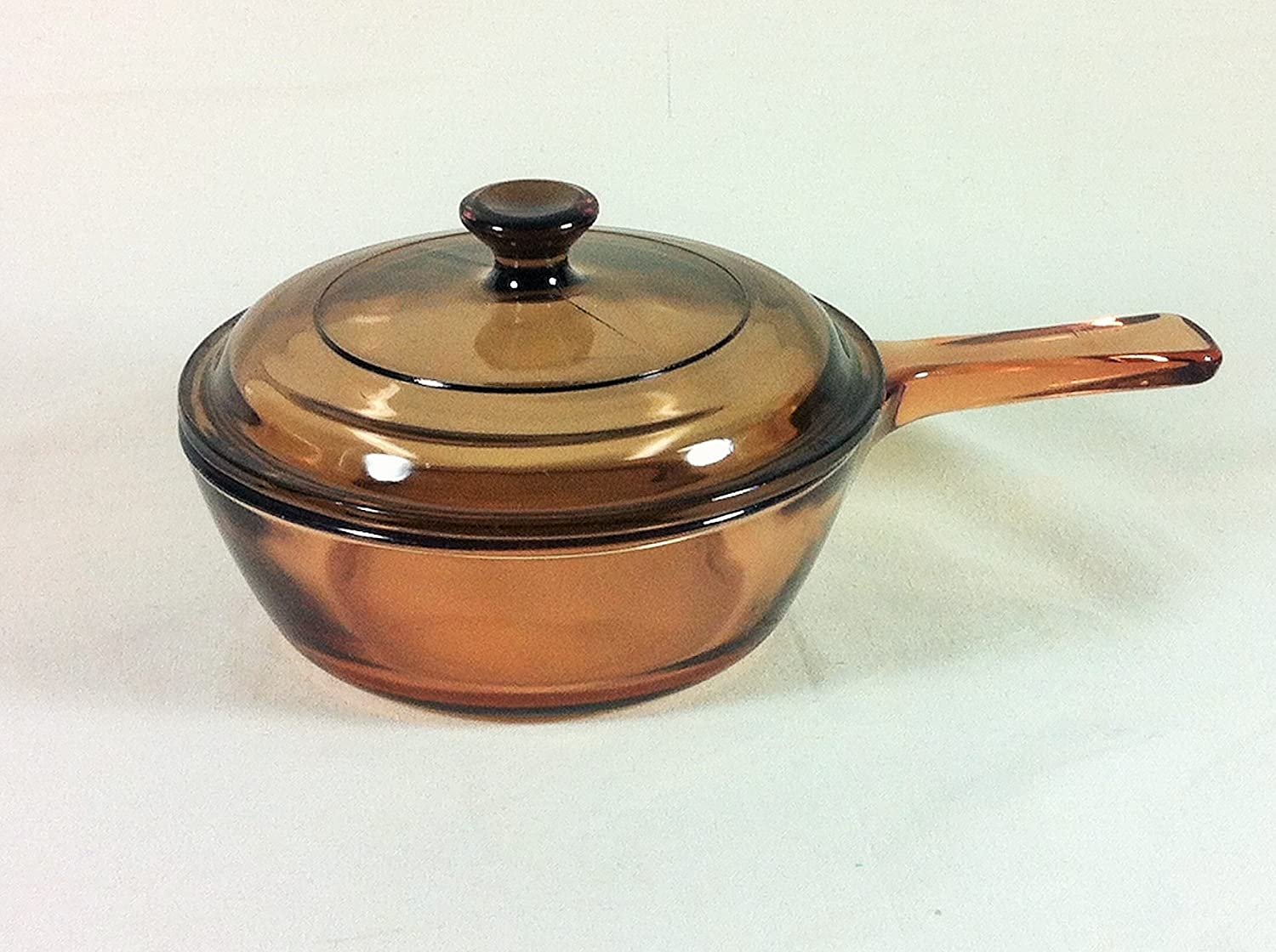 Corning .5 L Dallas Mall Vision Pan Lid with Sales Sauce