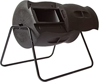 Algreen Products 82302 Terra Tumbling Composter, Black, 55-Gallon