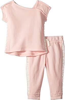 Splendid Littles - Sweatshirt Set w/ Lace (Infant)