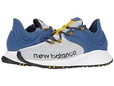 New Balance Fresh Foam Roav Trail (White/Stone Blue) Men