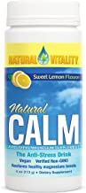 Natural Vitality Natural Calm Magnesium Anti Stress, Organic, Sweet Lemon, 4 oz