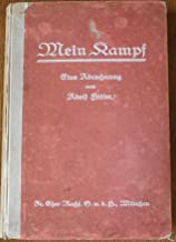 MEIN KAMPF FIRST EDITION ORIGINAL 1925