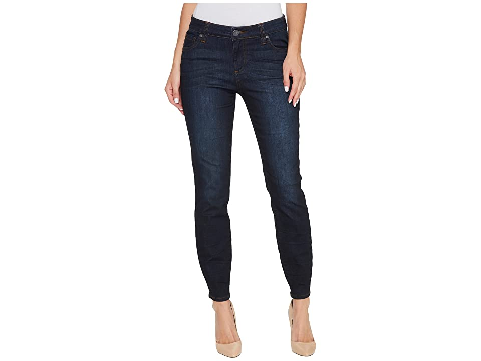 KUT from the Kloth Connie Ankle Skinny Zipp At Back in Margaric (Margaric/Euro Base Wash) Women
