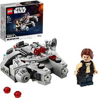 LEGO 75295 Star Wars Millennium Falcon Microfighter Toy with Han Solo Minifigure for 6 Years Old Boys and Girls