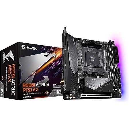GIGABYTE B550I AORUS PRO AX マザーボード MiniITX [AMD B550 チップセット搭載] MB4998