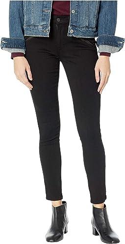 Jess Moto Skinny in Black