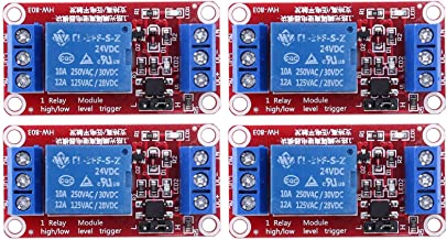 Varadyle 24V 1-Channel Relay Module Board Shield, with Optocoupler, Support High Level and Low Level Trigger