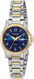 Citizen Women's Japanese-Quartz Stainless-Steel Strap, Two Tone, 11 Casual Watch (Model: EQ0595-55L)