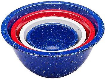 Zak Designs 2323-1890 Confetti Serving Bowls Blue LS