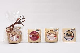 comprar comparacion Pack Artequeso - 3 Cuñas de Queso Manchego D.O.P. 250 gr. c/u (Semicurado, Curado y Añejo)-Manchego Artesano D.O.P. - Pr...