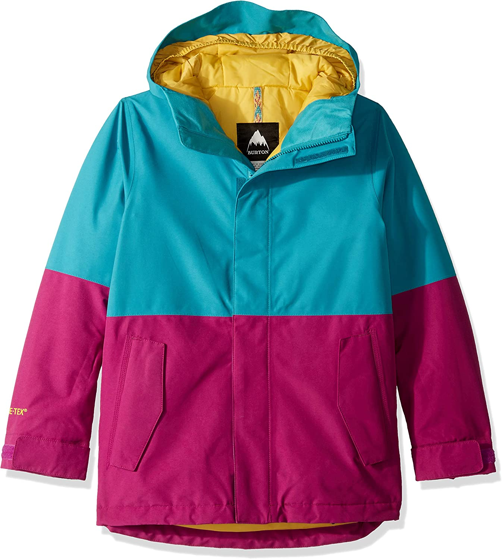 Burton Kids' GoreTex Stark Jacket, True Black W18, Large