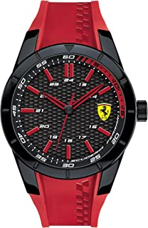 Ferrari Casual Watch Analog Display Quartz For Men 830299, Red Band