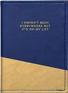 C.R. Gibson - Soporte para tarjetas de crédito y pasaporte, Passport Cover - Everywhere, Una talla