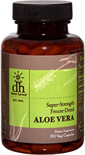 Desert Harvest Super-Strength 100% Organic Aloe Vera Supplement (90 Capsules) 600 milligrams with 200 milligrams Active Ingredients Each. Interstitial Cystitis & Bladder Pain Syndrome Relief.