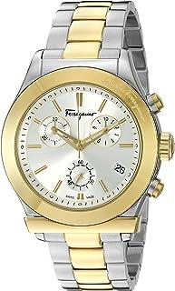 e8e98d2553f Salvatore Ferragamo Men s FF3840015 Ferragamo 1898 Two-Tone Watch