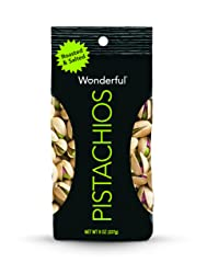 Wonderful Pistachios, Roasted and Salted, 8 Ounce