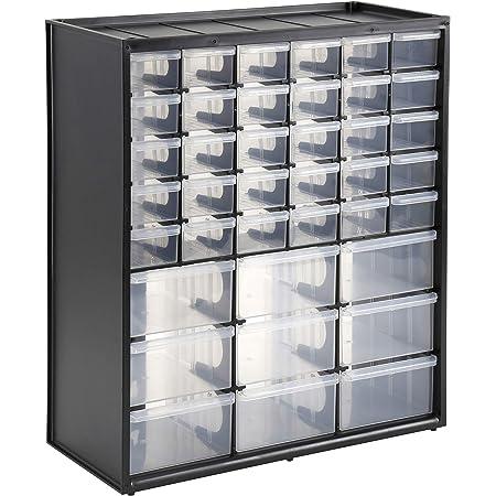 STANLEY 1-93-981 Caja de almacenamiento con 39 compartimentos