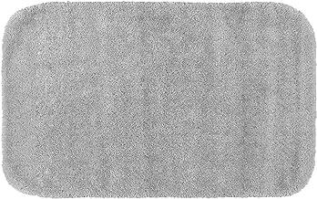 Garland Rug BA010W022060J4 Traditional Bath Rug, 22-Inch by 60-Inch, Basin Blue, Microfiber, Platinum Gray, 24-Inch by 40-...