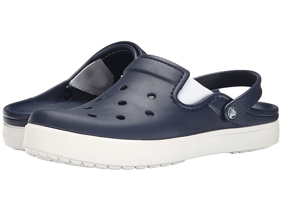 Crocs CitiLane Clog (Navy/White) Clog Shoes