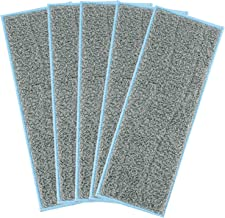 5 Wasbare natte mopping pads compatibel b.r.a.v. a j.e. t m- serie herbruikbare natte pads for i.r.o.b.o. t b.r.a.a.v. a ...