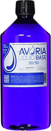 Avoria Deutsche Liquid Basen  1000 ml VPG (50/50), 1er Pack (1 x 1 l)