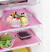Kuber Industries 6 Pieces PVC Refrigerator/Fridge Multipurpose Drawer Mat Set(Pink)-CTKTC32289