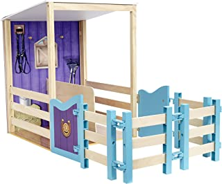 Journey Girls Wooden Horse Stable, Amazon Exclusive, by Just Play