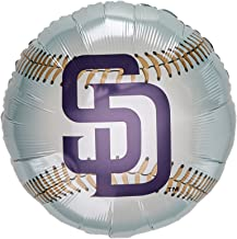 """Anagram International San Diego Padres Package Party Balloons, 18"""", Multicolor"""