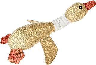 Mumoo Bear Swan Design Puppy Dog Chew Funny Sound Plush Pet Toys
