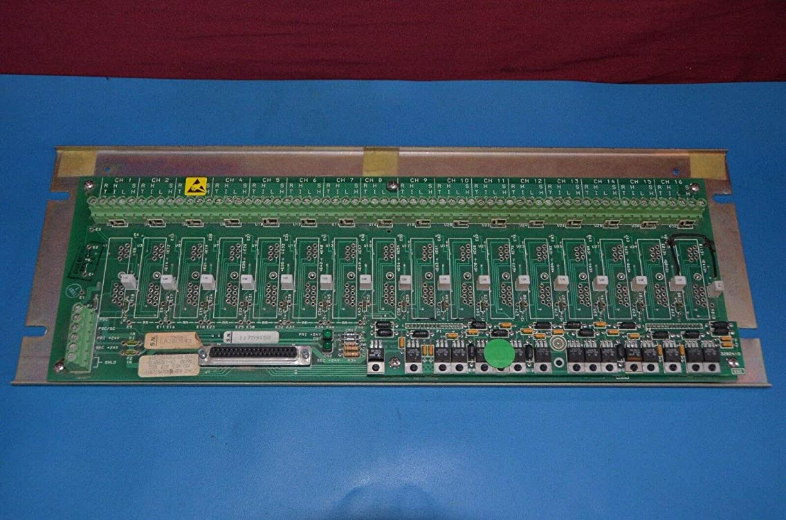 Fisher CL6863X1-A2 Isolated Analog Input Term Panel 41B7286X052-16 Rev J/K