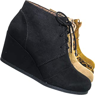 Best black ankle wedges Reviews