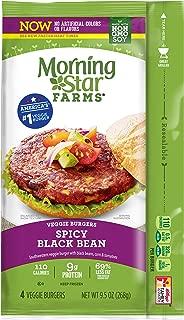 bean burger morning star