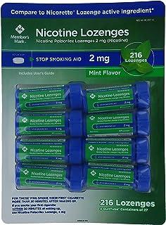 Members Mark 2mg Nicotine Lozenges, Mint (189 ct.)