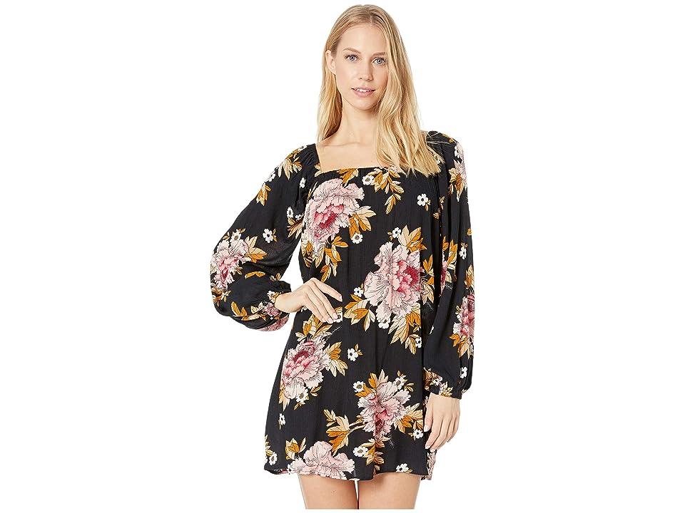 Billabong Spring Forward Dress (Black) Women