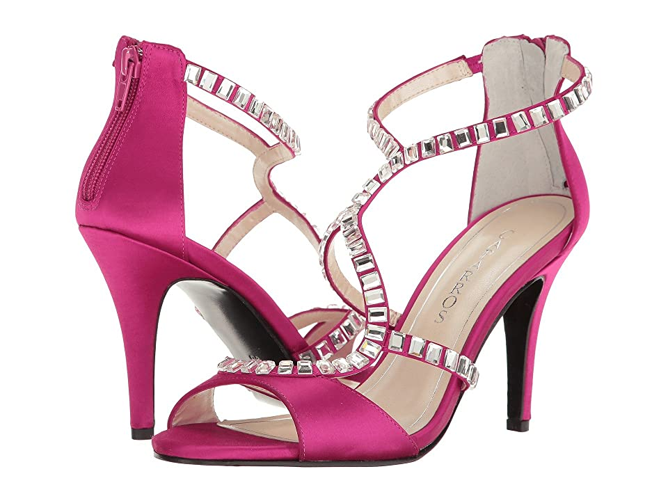 Caparros Idalia (Fuchsia Satin) High Heels