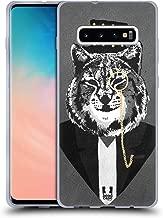 Head Case Designs Lynx Super Posh Soft Gel Case Compatible for Samsung Galaxy S10+ / S10 Plus