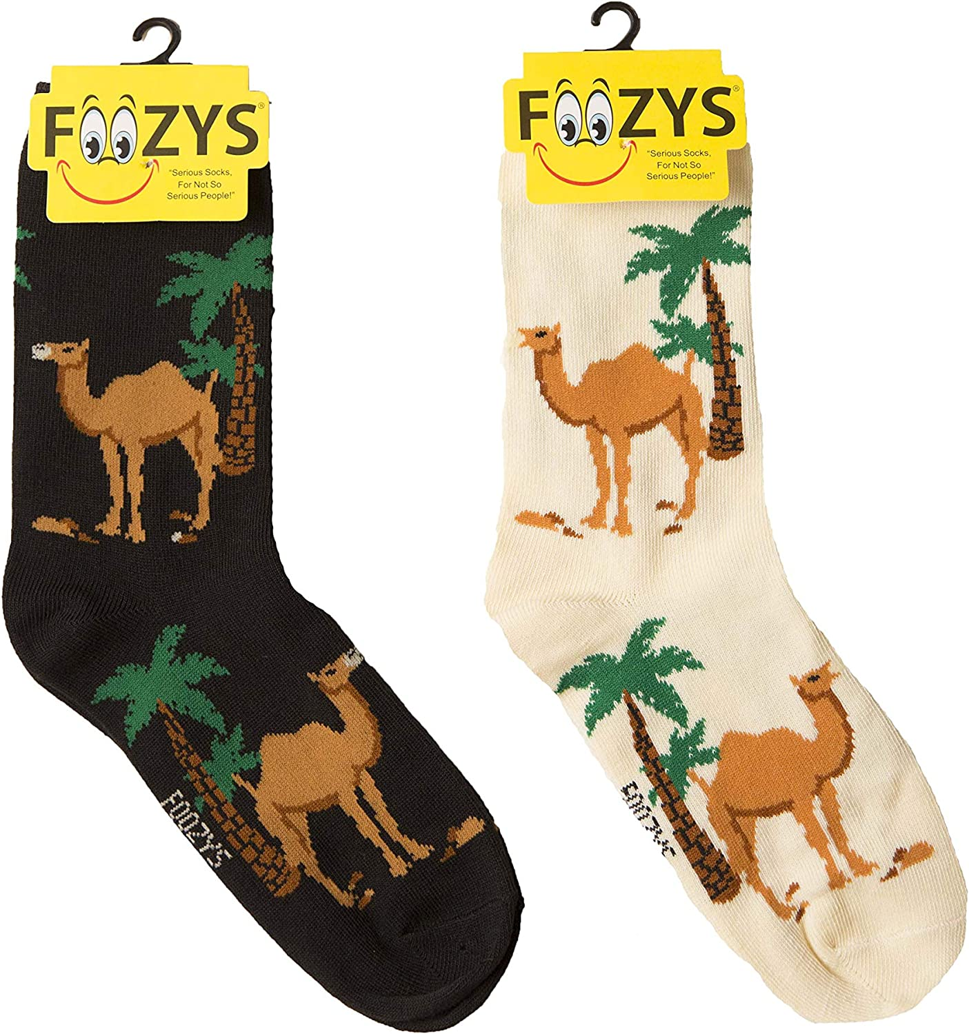 Foozys Some reservation Women's Crew Socks Cute Over item handling Zoo Animal Themed Novelty