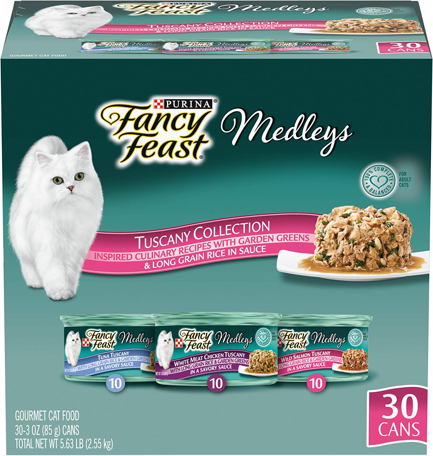 Purina Max 49% OFF Fancy Feast Wet Cat Food Pack Max 51% OFF Co Variety Seafood Medleys