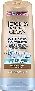 Jergens Natural Glow Wet Skin Moisturizer + Firming 7.5oz, 7.5 Oz