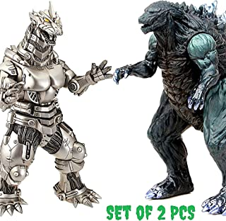 ZAVR Godzilla Figures Kings of The Monsters - 2 pcs 9 -12 inch, Carry Bag