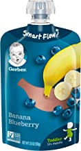 Gerber Purees Banana Blueberry Toddler Pouch, 3.5 Ounces (Pack of 12)