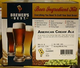 Brewer's Best American Cream Ale Homebrew Beer Ingredient Kit