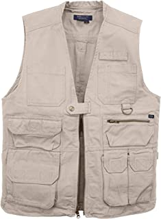 5.11 Lightweight Tactical Conceal Carry Vest with 17 Pockets Dual CCW for Outdoor Tactical Work, Style 80001
