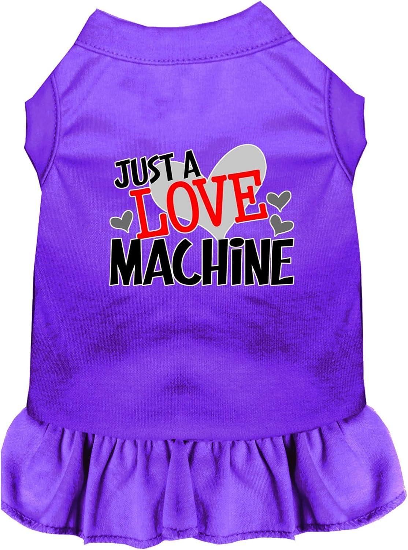 Denver Mall Mirage Pet Product Love Machine Screen Dog XL New Shipping Free Shipping Print Dress Purple